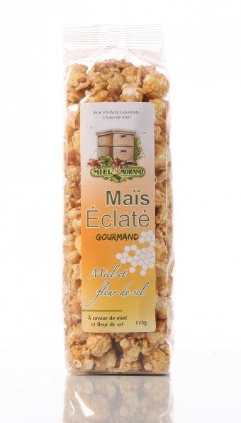 Maïs éclaté Miel et fleur de sel