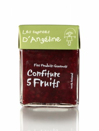 Confiture 5 fruits